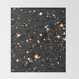 Hubble Extreme Deep Field High Resolution Throw Blanket