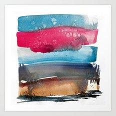 Landscape Color Study 1 Art Print