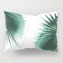 Fan Palm Leaves Paradise #7 #tropical #decor #art #society6 Pillow Sham