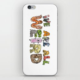 We Are All Weird iPhone Skin