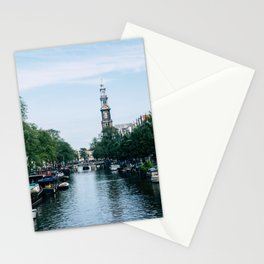 Down the Canal Stationery Cards