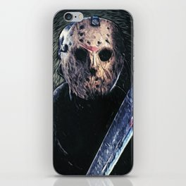 Jason Voorhees iPhone Skin