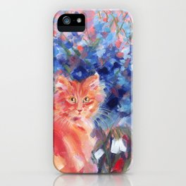 Ginger Blue iPhone Case