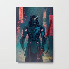077 Samurai 2077 Metal Print