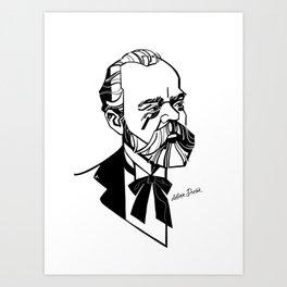 Antonín Dvořák Art Print