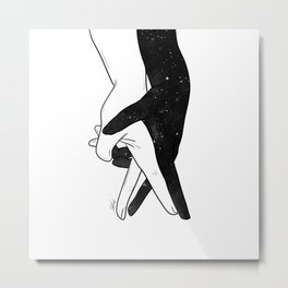 Let's forget and dance. Metal Print