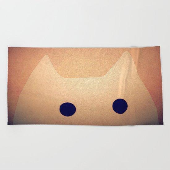 cat-44 Beach Towel