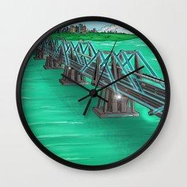 Hijo Puente Wall Clock