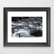 Silk Framed Art Print