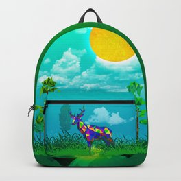 Forest Deer Backpack
