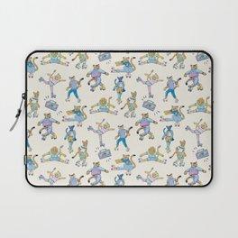 The Wildcats; Retro Rollerskating Illustration Laptop Sleeve