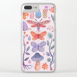 Et coloris natura III Clear iPhone Case