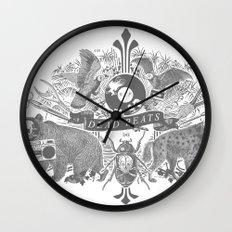 DEAD BEATS Wall Clock