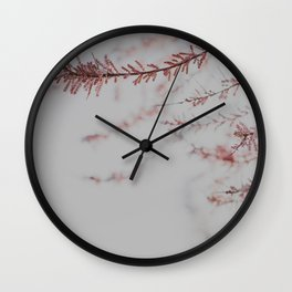 Soft Dusty Pink Lullaby Wall Clock