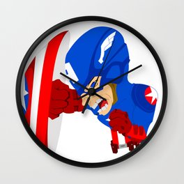 Star spangled man Wall Clock