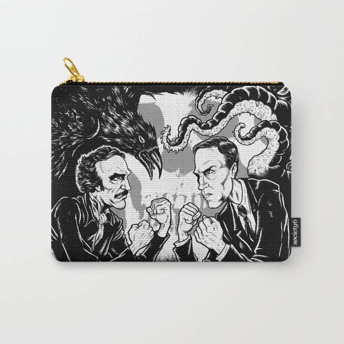 Poe vs. Lovecraft Carry-All Pouch