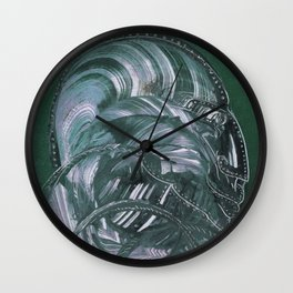 Pierced Pirate Wall Clock