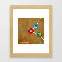 1/2 Chronicles | 13/14 Framed Art Print