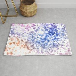 Colorful Watercolor Spots Rug
