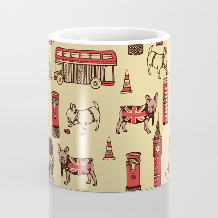 London Frenchies Coffee Mug