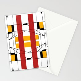 Geometric Abstaction Stationery Cards