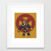 cyclops Framed Art Prints featuring Cyclops by Twisted Dredz