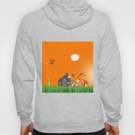 What's going on in the jungle? Kids collection Hoody