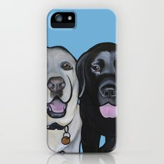 Indie & Daisy the labs iPhone (5, 5s) Slim Case