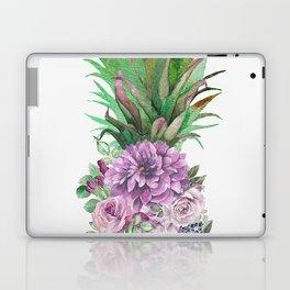 Floral Pineapple 1 Laptop & iPad Skin