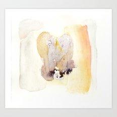 Floral Apparition 1 Art Print