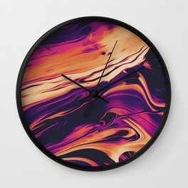 LONG WAY BACK Wall Clock