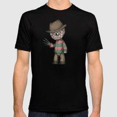 Plushie On Elm Street Mens Fitted Tee MEDIUM Black