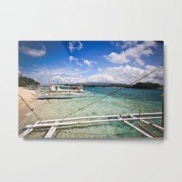 Philippine Waters Metal Print