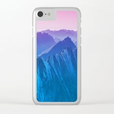 Mountains 2017 Clear iPhone Case