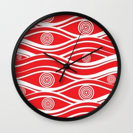 Pattern 108 Wall Clock