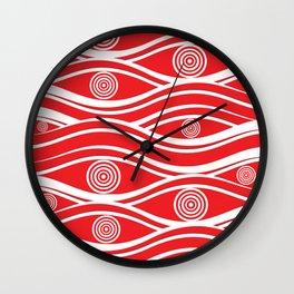 Pattern 108 Wall Clock