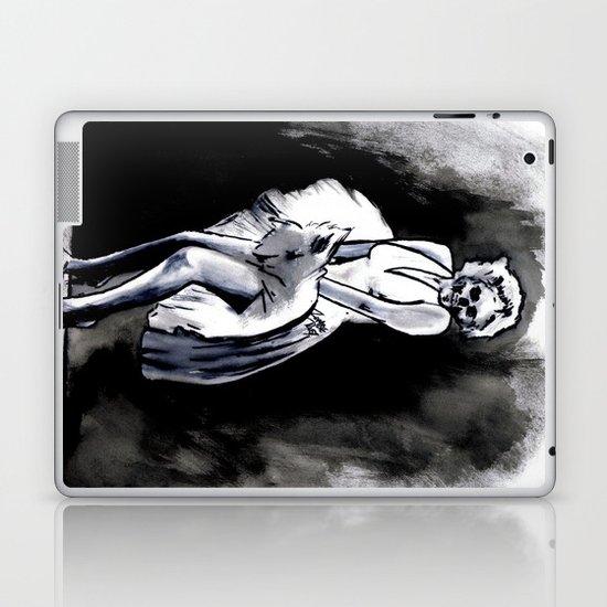 Skeleton Itch Laptop & iPad Skin