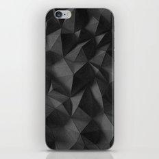 black rocks landscape iPhone Skin