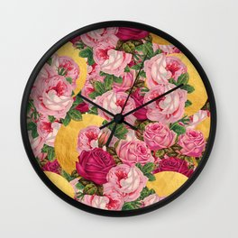 Rosy Gold Wall Clock