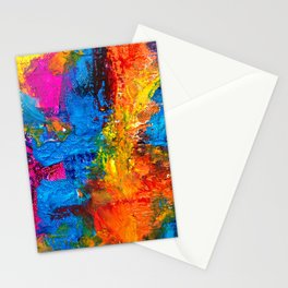 Expressionism Paster Painting Ultra HD Stationery Cards