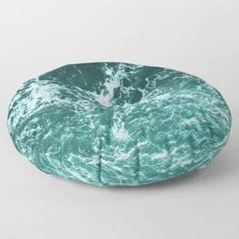 Upside Down Sea Water Splash Floor Pillow