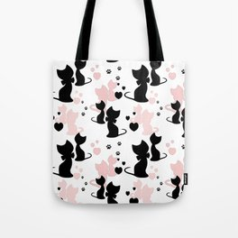 Little cats Tote Bag