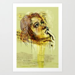 untitled #2 Art Print