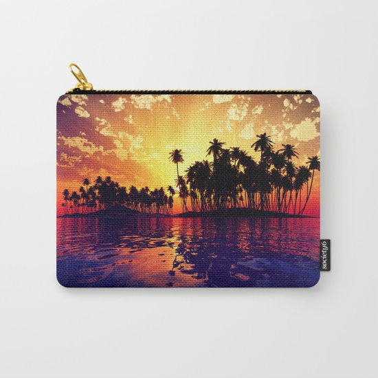 Coconut Island Carry-All Pouch