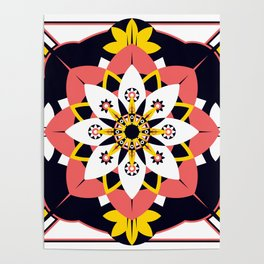Poppy Blossom Poster