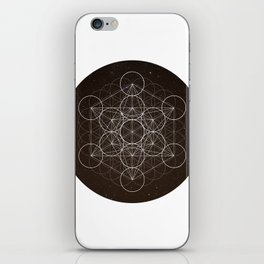 Metatrons Cube Is Out Of Space iPhone Skin