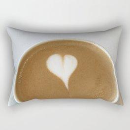 Hot Coffee Love Rectangular Pillow