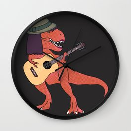 She-Rex Hipster Acoustic Wall Clock