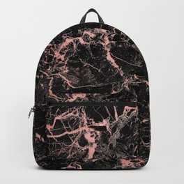 Marble Rose Gold - Someone Backpack