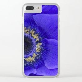 Blue Annie Clear iPhone Case